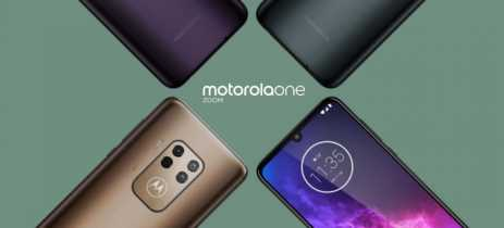 Motorola One Zoom aparece em novo vazamento de imagens com sistema híbrido de zoom