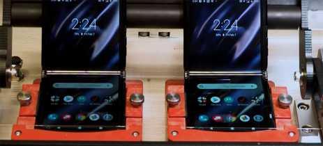 Veja o vídeo do Razr dobrável sendo testado na fábrica da Motorola