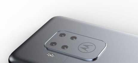 Vaza imagem de smartphone da Motorola com 4 câmeras traseiras