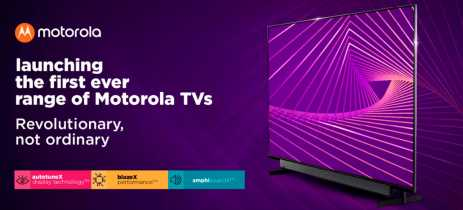 Motorola entra no mercado de Android TVs com seis modelos de televisões
