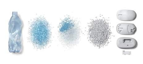 Ocean Plastic é o novo mouse da Microsoft feito com material reciclável