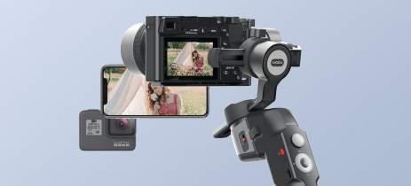 MOZA Mini-P é o novo gimbal da Gudsen que suporta celular, câmeras de ação e mirrorless