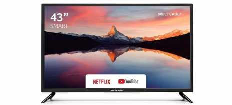 Multilaser lança novas smart TVs no Brasil com preços a partir de R$ 1.099