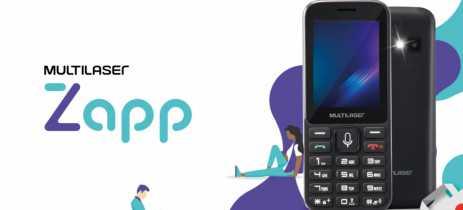 Telefone celular Multilaser Zapp é lançado no Brasil com sistema KaiOS