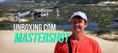 DJI Air 2S - Unboxing e primeiro voo com MasterShot em Floripa