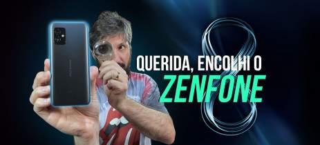 """Zenfone 8: o menor topo de linha de 2021? Tela de 5.9"""" e Snapdragon 888 (primeiras impressões)"""