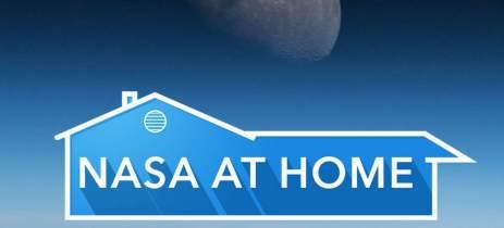 NASA at Home leva você para o espaço no conforto da sua casa
