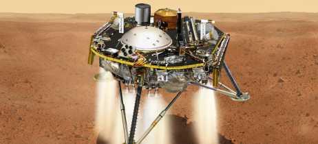 InSight pousa em Marte: Confira a primeira imagem capturada pela sonda da Nasa