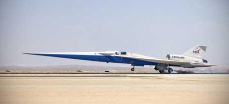 Jato supersônico X-59 QueSST da NASA é liberado para montagem final