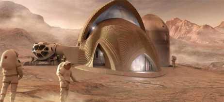NASA divulga modelos de casas impressas em 3D para morar em Marte