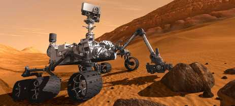 Robô Curiosity da NASA completa 7 anos em Marte