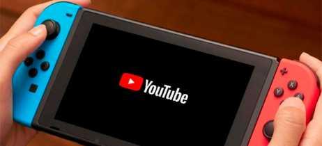 YouTube já está disponível oficialmente na eShop do Nintendo Switch