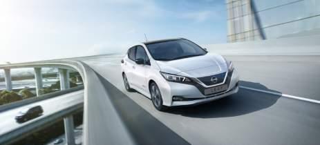 Nissan entrega mais 150 unidades do EV LEAF para locadora Movida