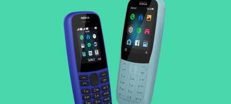 Nem tudo é smartphone: conheça os novos (e baratos) Nokia 105 e Nokia 220 4G