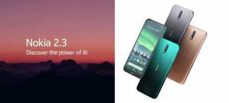 Novo smartphone Nokia 2.3 tem bateria com autonomia de até dois dias