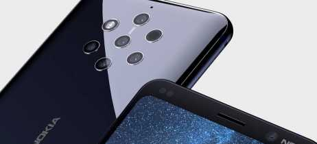 Parte da frente do Nokia 9 finalmente aparece em vazamento de imagens