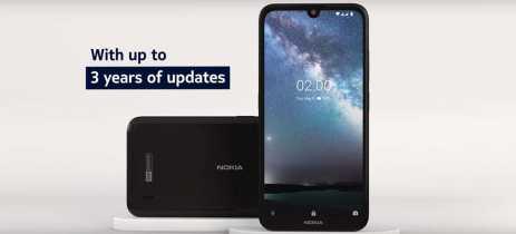 Smartphone de entrada Nokia 2.2 é anunciado com pequeno notch e preço competitivo