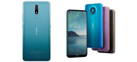HMD Global anuncia celulares baratinhos Nokia 2.4 e Nokia 3.4