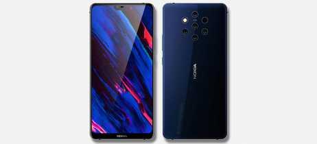 Renderizações do Nokia 9 PureView são publicadas mostrando 5 câmeras traseiras