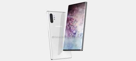 Galaxy Note 10 aparece em imagens com quatro câmeras e sem entrada para fones [Rumor]