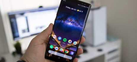 Galaxy Note 8 enfim começa a receber update para o Android 9 Pie em alguns países