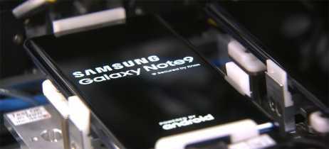 Samsung mostra como o Note 9 é fabricado em novo vídeo