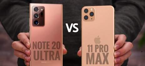 Quem se sai melhor caindo: Galaxy Note20 Ultra ou iPhone 11 Pro Max?