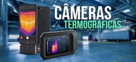 FLIR C5 e One Pro: CÂMERAS termográficas de BOLSO!