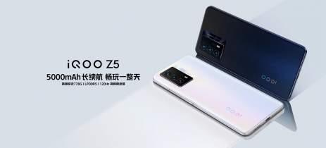 IQOO Z5 é anunciado com Snapdragon 778G e display de 120Hz