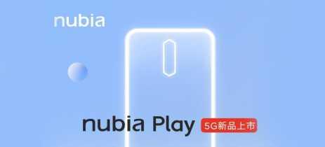 Nubia Play 5G tem bateria de 5100mAh e conjunto quádruplo de câmeras