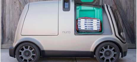 Domino's vai começar a fazer entregas de pizzas com veículo totalmente autônomo da Nuro
