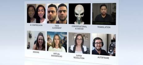Plataforma NVIDIA Maxine usa inteligência artificial para melhorar videoconferências