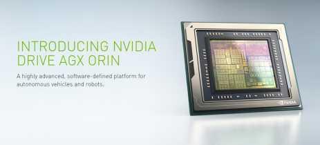 NVIDIA anuncia plataforma DRIVE AGX Orin para veículos autônomos e robôs