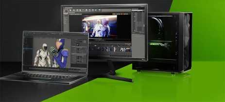Novos drivers Nvidia Studio RTX aceleram Blender em 4 vezes