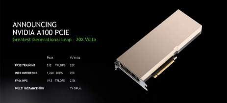Nvidia lança GPU A100 com PCIe 4.0 destinada para servidores