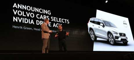 Volvo firma parceria para usar tecnologia da Nvidia em seus carros em 2020