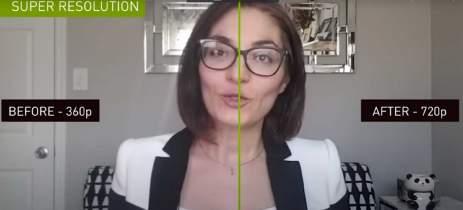 Plataforma Nvidia Maxine utiliza IA para melhorar imagem em chamada de vídeo