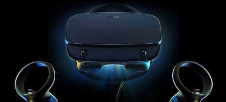 Oculus revela headset de VR Rift S com maior resolução e áudio integrado