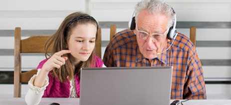 Gerações mais velhas não usam presentes tecnológicos por não saber configurá-los