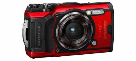 Olympus apresenta câmera à prova d'água Tough TG-6 com melhor fotografia aquática