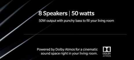Vazamento indica que OnePlus TV pode vir com oito alto-falantes de 50 watts e Dolby Atmos