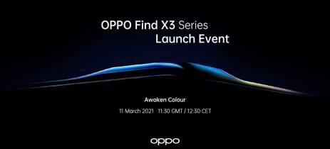 OPPO Find X3: Nova linha de smartphones será lançada em 11 de março
