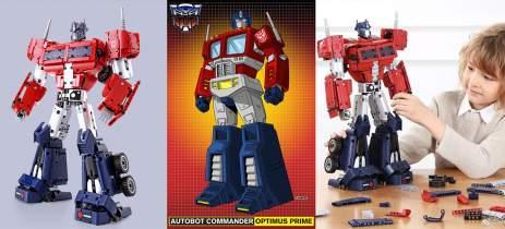 Xiaomi lança brinquedo do Transformer Optimus Prime em parceria com a Hasbro