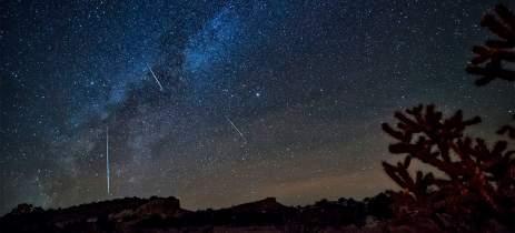 Chuva de meteoros pode ser vista a olho nu nesta madrugada no Brasil