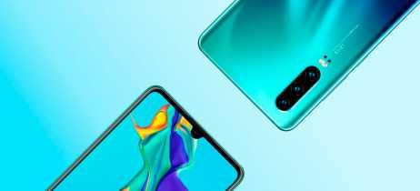 Fotos promocionais do Huawei P30 e P30 Pro são publicadas no site oficial da empresa