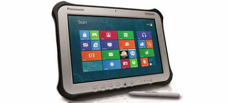 Panasonic melhora especificações do tablet robusto Toughpad FZ-G1