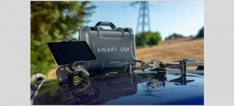 Parrot lança Anafi USA por US$7.000 - Drone tem câmera termal, 4K e 32x zoom