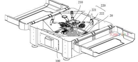 Patente da DJI sugere o lançamento de docas para seus drones