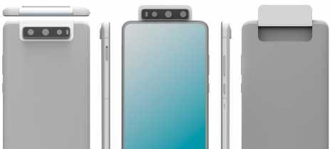 Nova patente da Huawei revela celular com câmera tripla