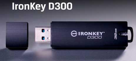 Kingston anuncia pendrive que exige senha para ser acessado, o IronKey Serialized (D300S)